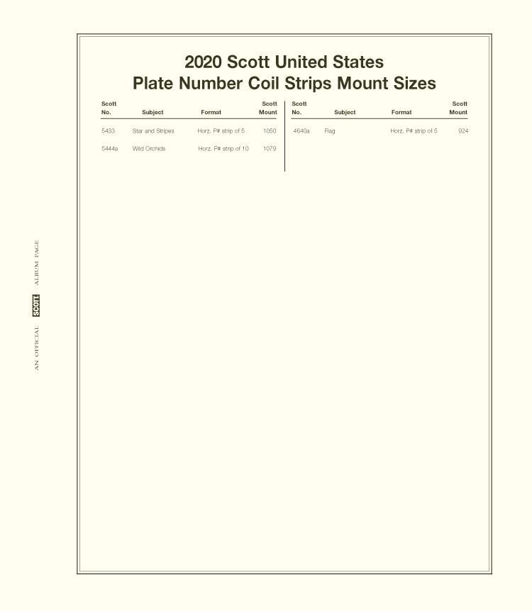 SCOTT UNITED STATES SIMPLIFIED PNC 2020 #31