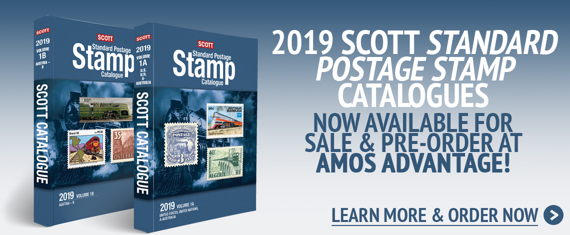 2019 Scott Catalogs