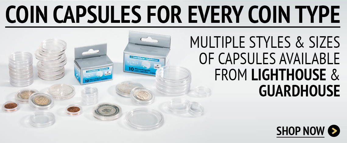 Coin Capsules for sale