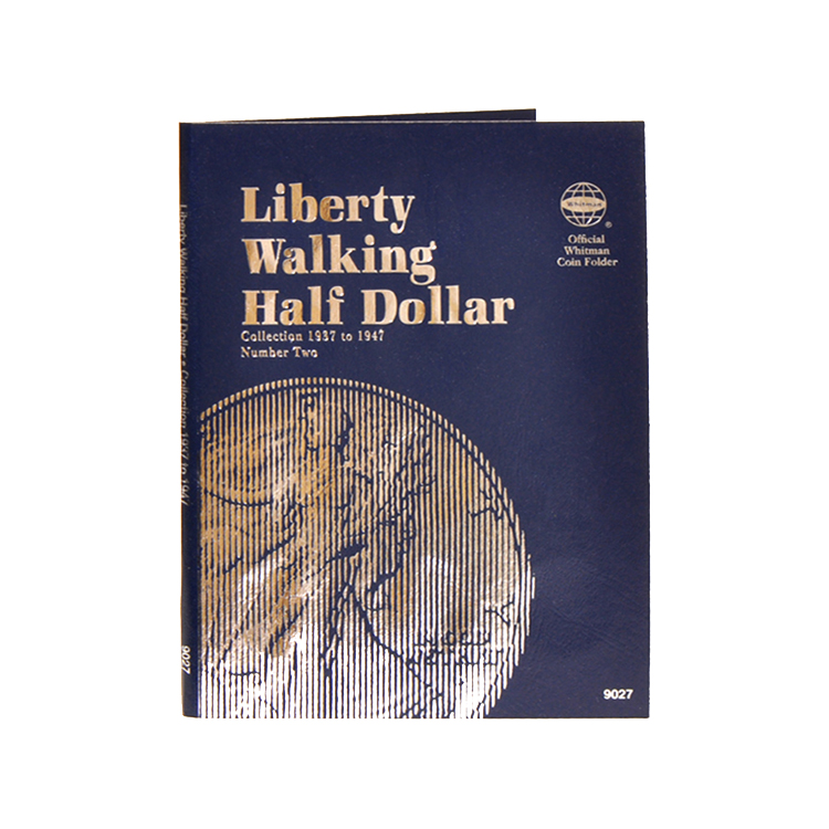 Whitman Liberty Walking Half Dollars 1937-1947 (Vol. 2) Folder