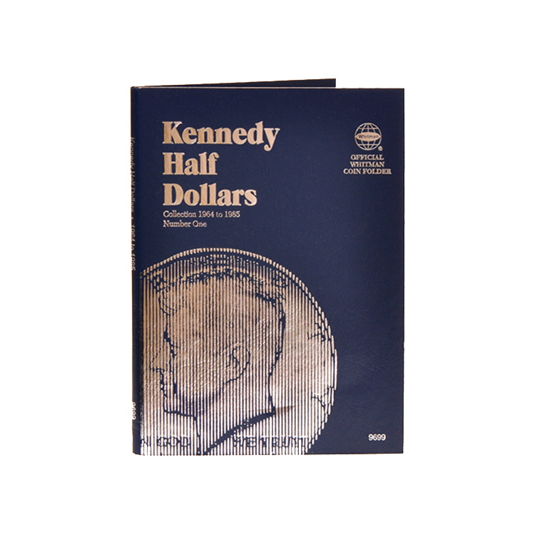 Whitman Kennedy Half Dollars 1964-1985 (Vol. 1) Folder