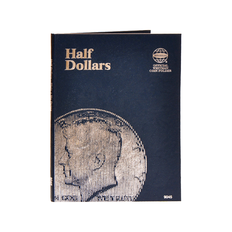 Whitman Half Dollars Folder