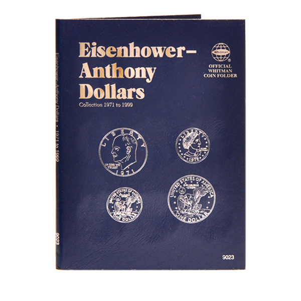 Whitman Eisenhower / Susan B. Anthony Dollars Folder