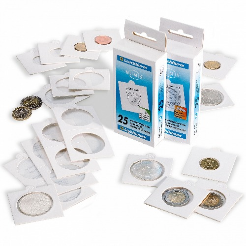 Lighthouse Self-Adhesive 2x2 - 27.5mm / US Quarters (25-Pack)