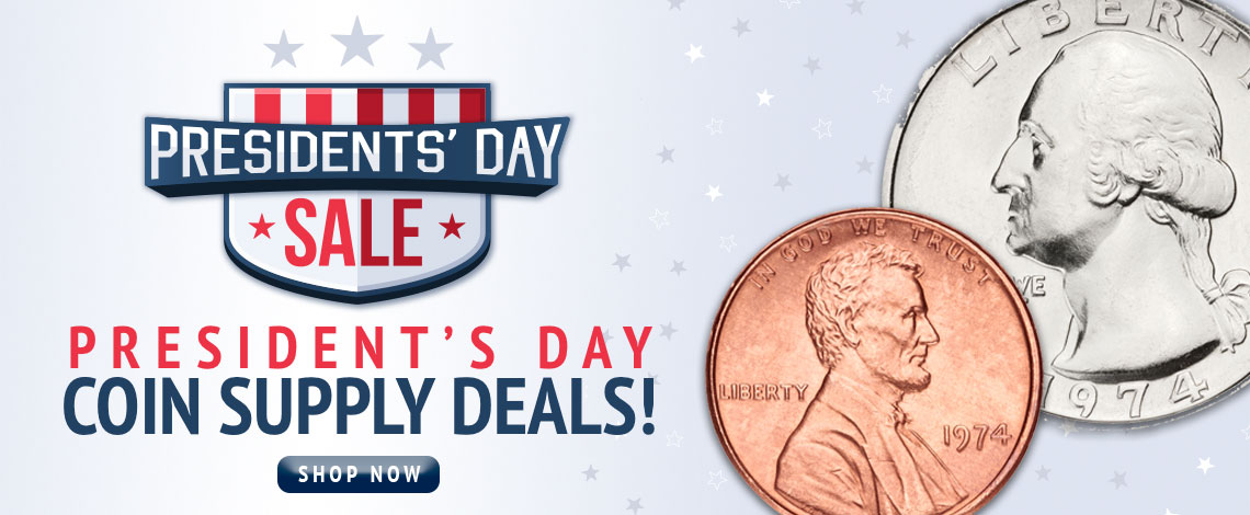President's Day Sale Coin