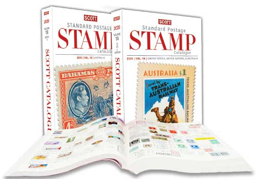 Amos Advantage - Scott Standard Postage Stamp Catalogues