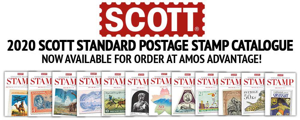 Amos Advantage - Scott Standard Postage Stamp Catalogues