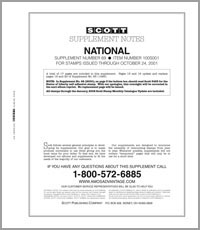 UNITED STATES NATIONAL 2001 (19 PAGES) #69