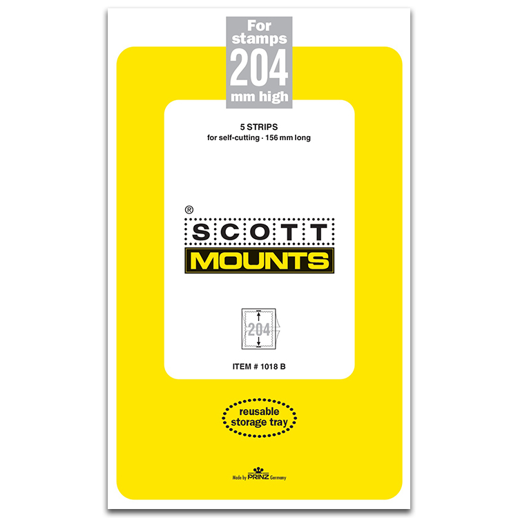 ScottMount 156x204 Stamp Mounts - Black