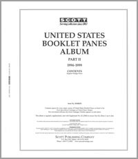 UNITED STATES BOOKLET PANES 1994-1999 (59 PAGES)
