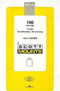 165/190 BLACK MOUNT (4 MOUNTS)