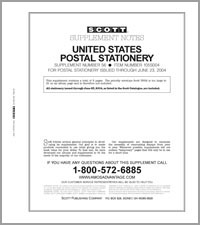 UNITED STATES POSTAL STATIONERY 2003-2004 (6 PAGES) #56