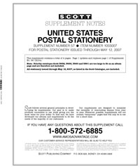 UNITED STATES POSTAL STATIONERY 2005-2007 (5 PAGES) #57