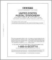 UNITED STATES POSTAL STATIONERY 1996-1999 (4 PAGES) #54