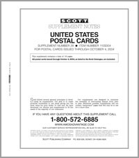 UNITED STATES POSTAL CARDS 2004 (18 PAGES) #28