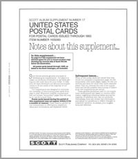 UNITED STATES POSTAL CARDS 1993 (7 PAGES) #17