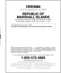 MARSHALL ISLANDS 2007 (8 PAGES) #22