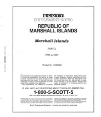 MARSHALL ISLANDS 1995-1997 (40 PAGES)