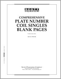 BLANK PAGES: PLATE NUMBER COIL SINGLES (20 PAGES)