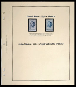 UNITED STATES JOINT ISSUES 1959-2001 (35 PAGES)