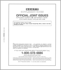 UNITED STATES JOINT ISSUES 2002-2006 (5 PAGES) #3