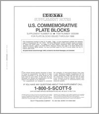 UNITED STATES COMMEMORATIVE PLATE BLOCKS 1999 (14 PAGES) #50