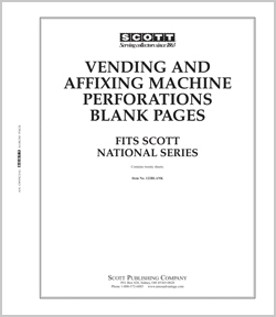 U.S. BLANK VENDING & AFFIXING MACHINE PAGES (20 PAGES)