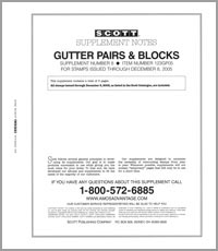 UNITED STATES GUTTER PAIRS & BLOCKS 2005 (6 PAGES) #8