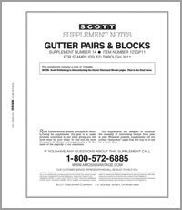 UNITED STATES GUTTER PAIRS & BLOCKS 2011 (13 PAGES) #14