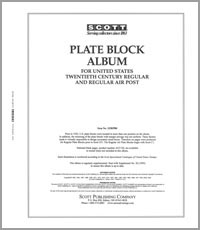 UNITED STATES REGULAR PLATE BLOCKS 1918-1991 (99 PAGES)