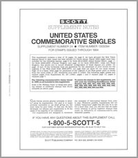 UNITED STATES COMMEMORATIVE SINGLES 1994 (17 PAGES) #24