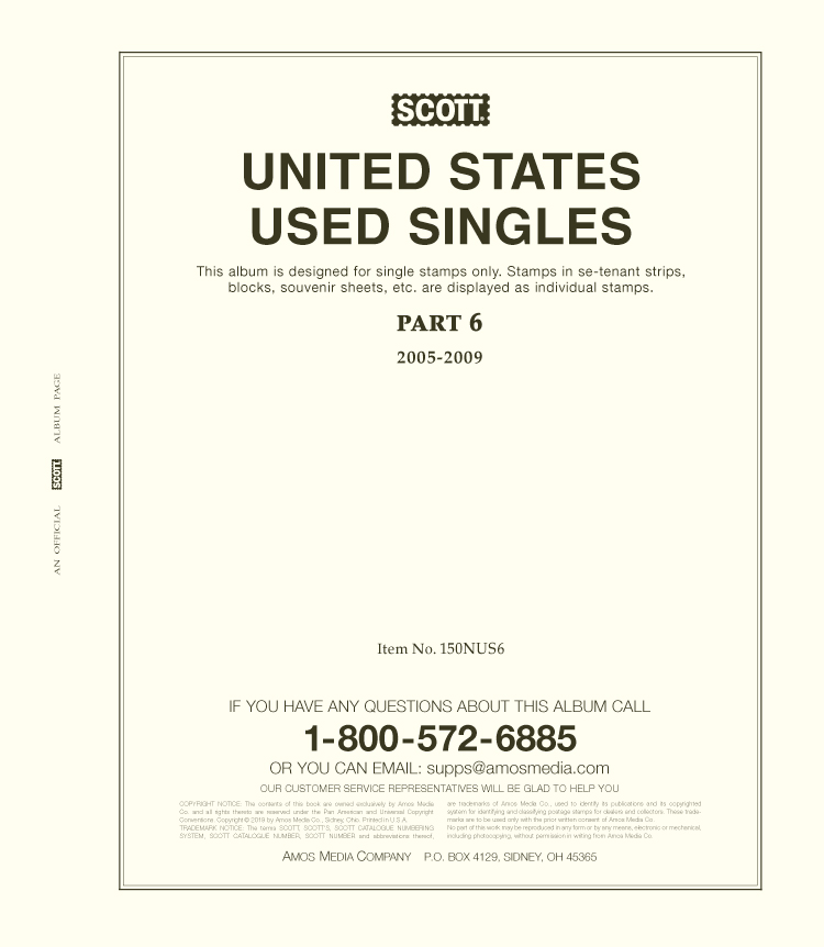 Scott United States National Used Singles Part 6 (2005-2009)