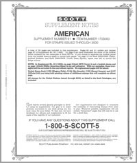 UNITED STATES AMERICAN 2000 (38 PAGES) #61