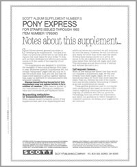 UNITED STATES PONY EXPRESS 1993 (16 PAGES - 8 SHEETS) #5