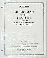 UNITED STATES MINUTEMAN PAGES - 19TH CENTURY (17 PAGES)