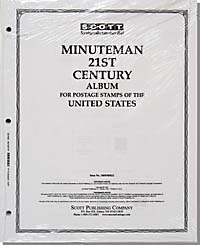 UNITED STATES MINUTEMAN PAGES - 21ST CENTURY 2000-2003 (72 PAGES)