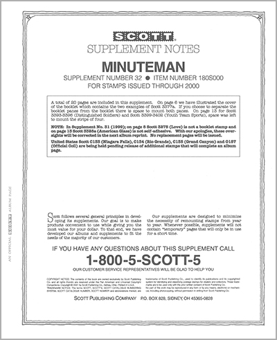 UNITED STATES MINUTEMAN 2000 (21 PAGES) #32