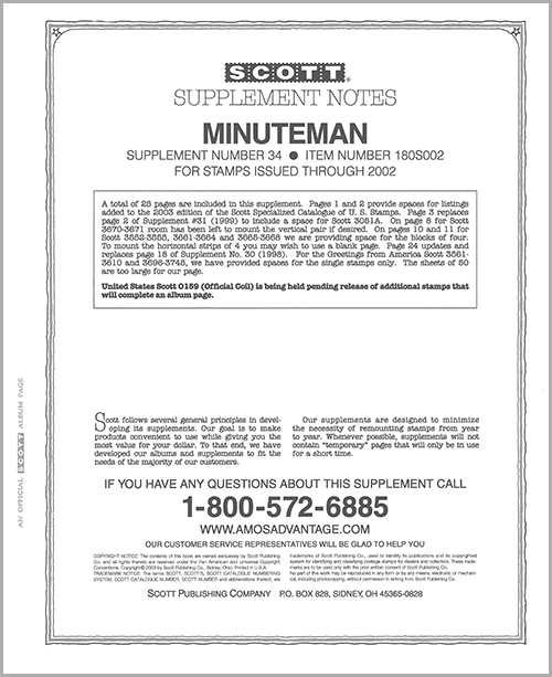 UNITED STATES MINUTEMAN 2002 (27 PAGES) #34