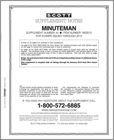 UNITED STATES MINUTEMAN 2012 (20 PAGES) #44