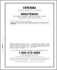 UNITED STATES MINUTEMAN 1982 #14 (17 PAGES)