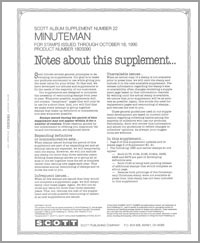 UNITED STATES MINUTEMAN 1990 (16 PAGES) #22