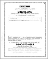 UNITED STATES MINUTEMAN 1991 #23 (13 PAGES)