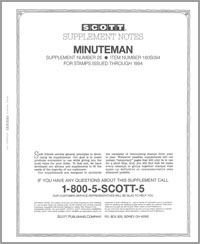 UNITED STATES MINUTEMAN 1994 (20 PAGES) #26