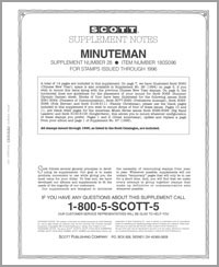 UNITED STATES MINUTEMAN 1996 (15 PAGES) #28