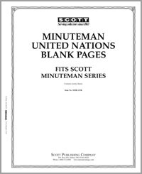BLANK PAGES MINUTEMAN UN (5-HOLE) (PACK OF 20 PAGES)