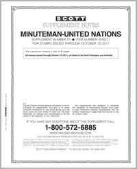 UNITED NATIONS MINUTEMAN 2011 (21 PAGES) #21