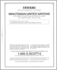UNITED NATIONS MINUTEMAN 1998 (15 PAGES) #8
