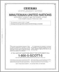 UNITED NATIONS MINUTEMAN 1999 (15 PAGES) #9