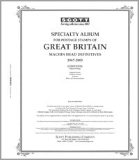 GREAT BRITAIN MACHINS 1967-2009 (40 PAGES)