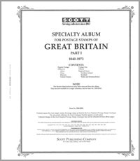 GREAT BRITAIN 1840-1973 (107 PAGES)